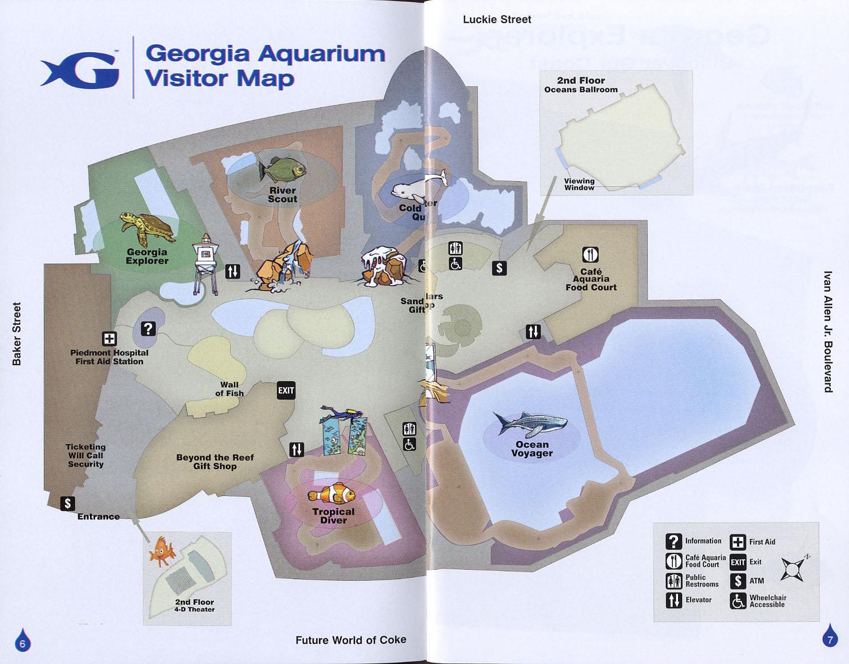 26 Original Map Atlanta Aquarium Bnhspine Com