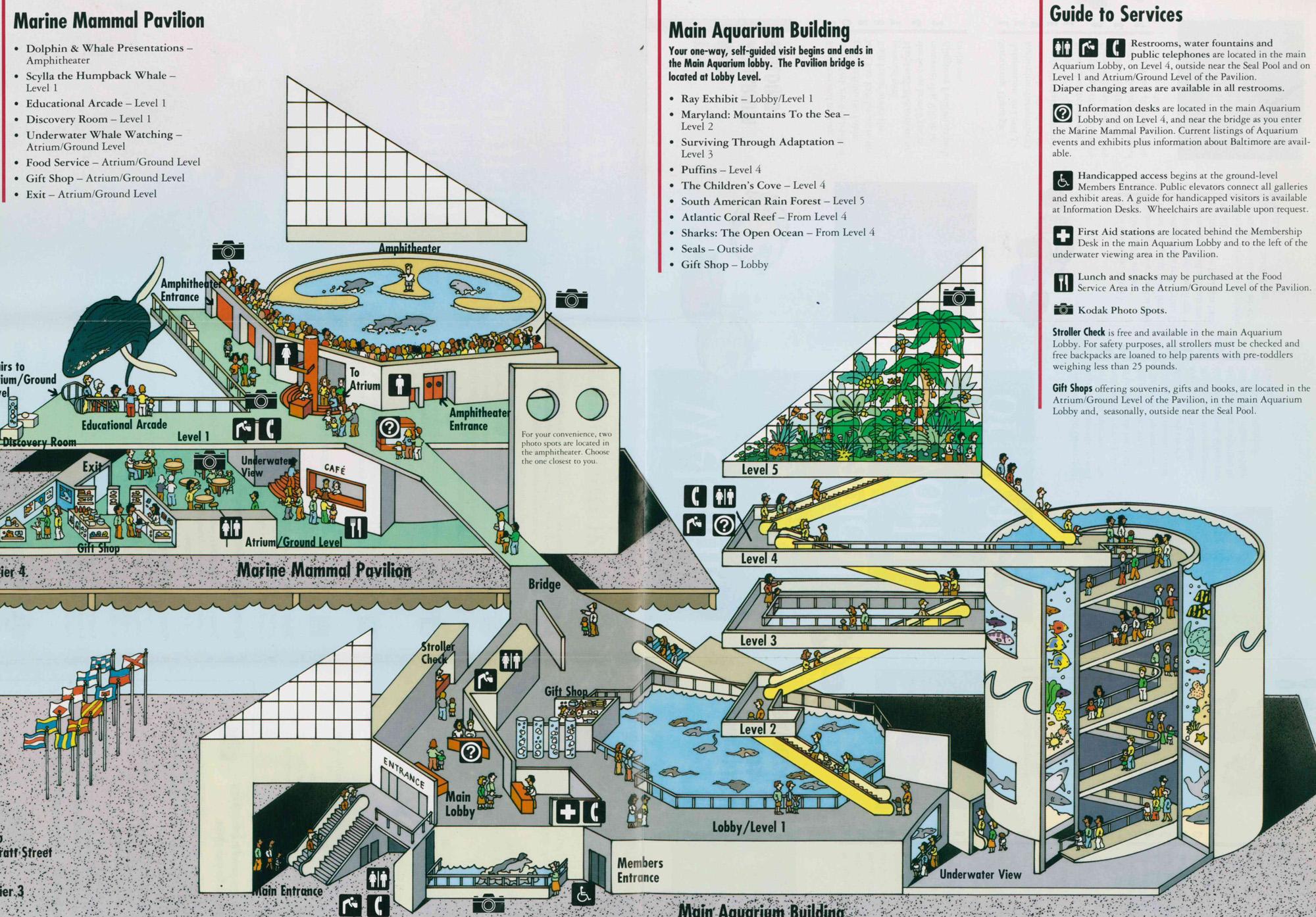 national aquarium baltimore map Index Of Zoos Amerique Nord Etats Unis Baltimore Aquarium Maps national aquarium baltimore map