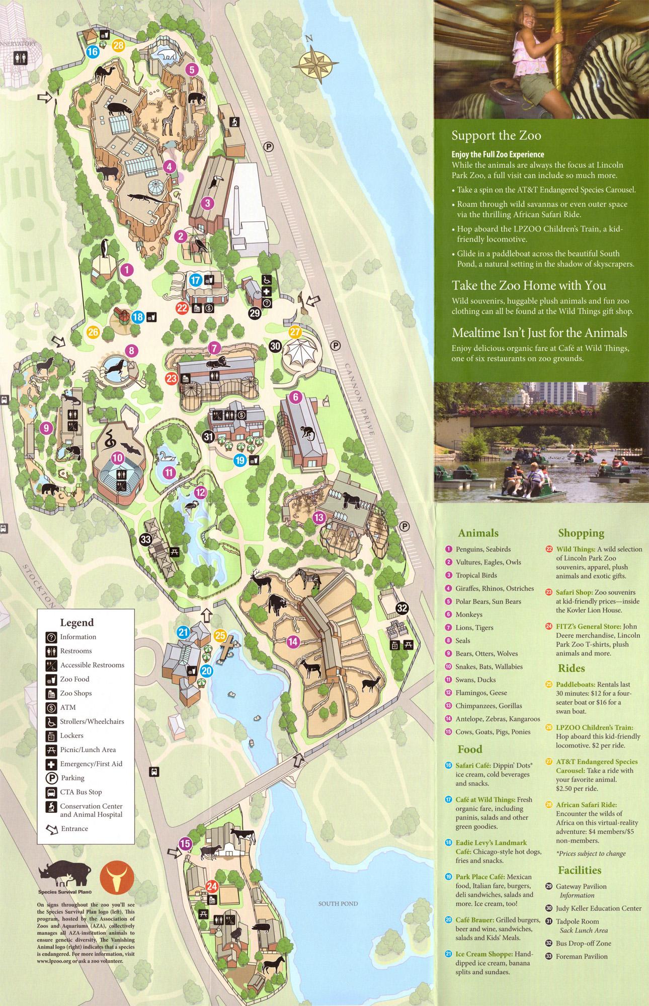 Les Zoos Dans Le Monde Lincoln Park