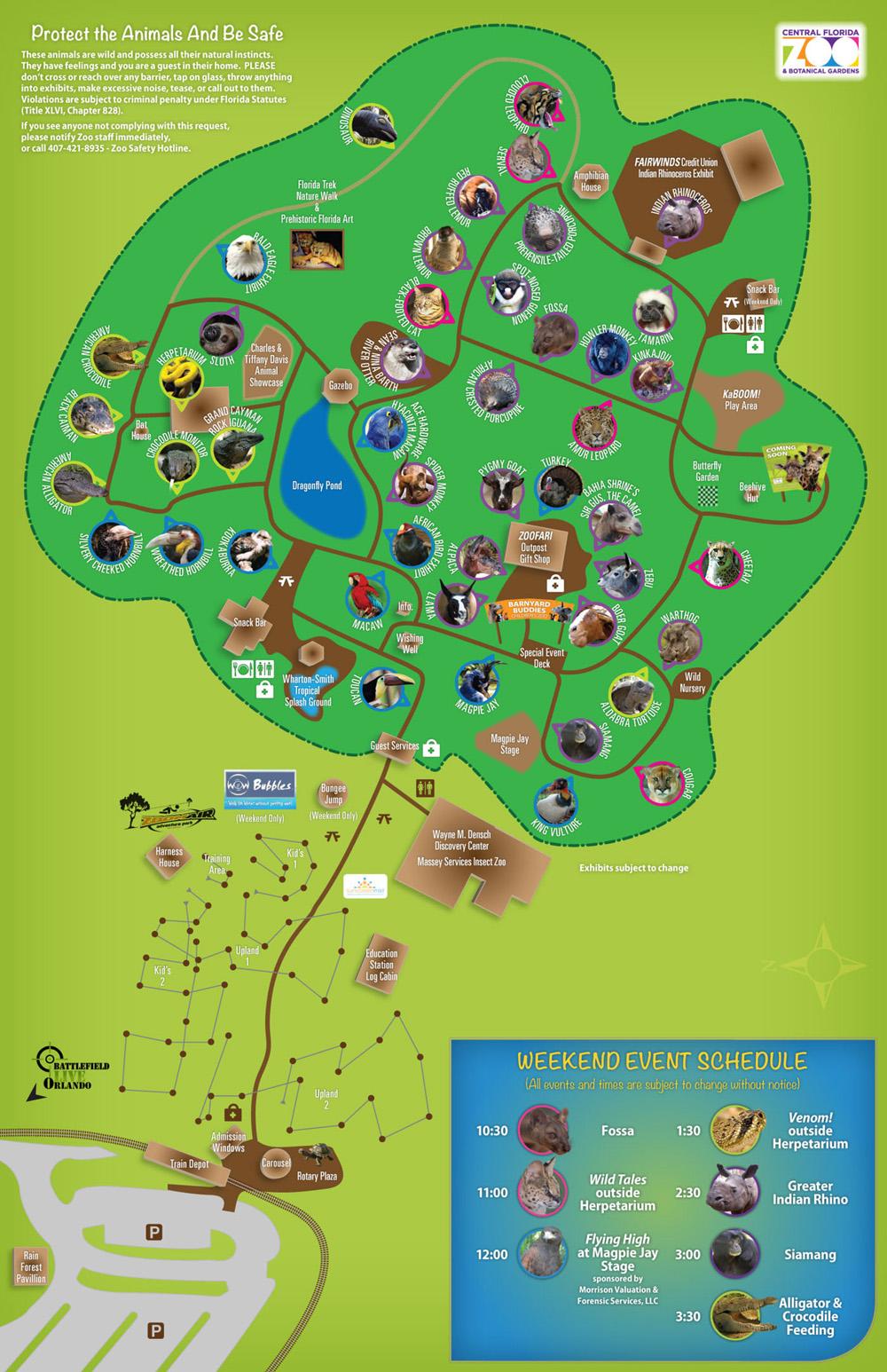 Central Florida Zoo And Botanical Gardens Wedding Garden Ftempo