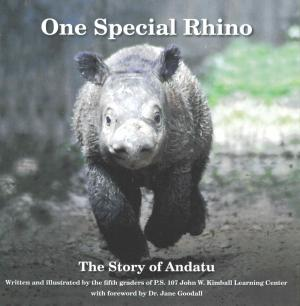 <strong>One Special Rhino, The Story of Andatu</strong>, Written and illustrated by the fifth graders of P.S. 107 John W. Kimball Learning Center, 2014
