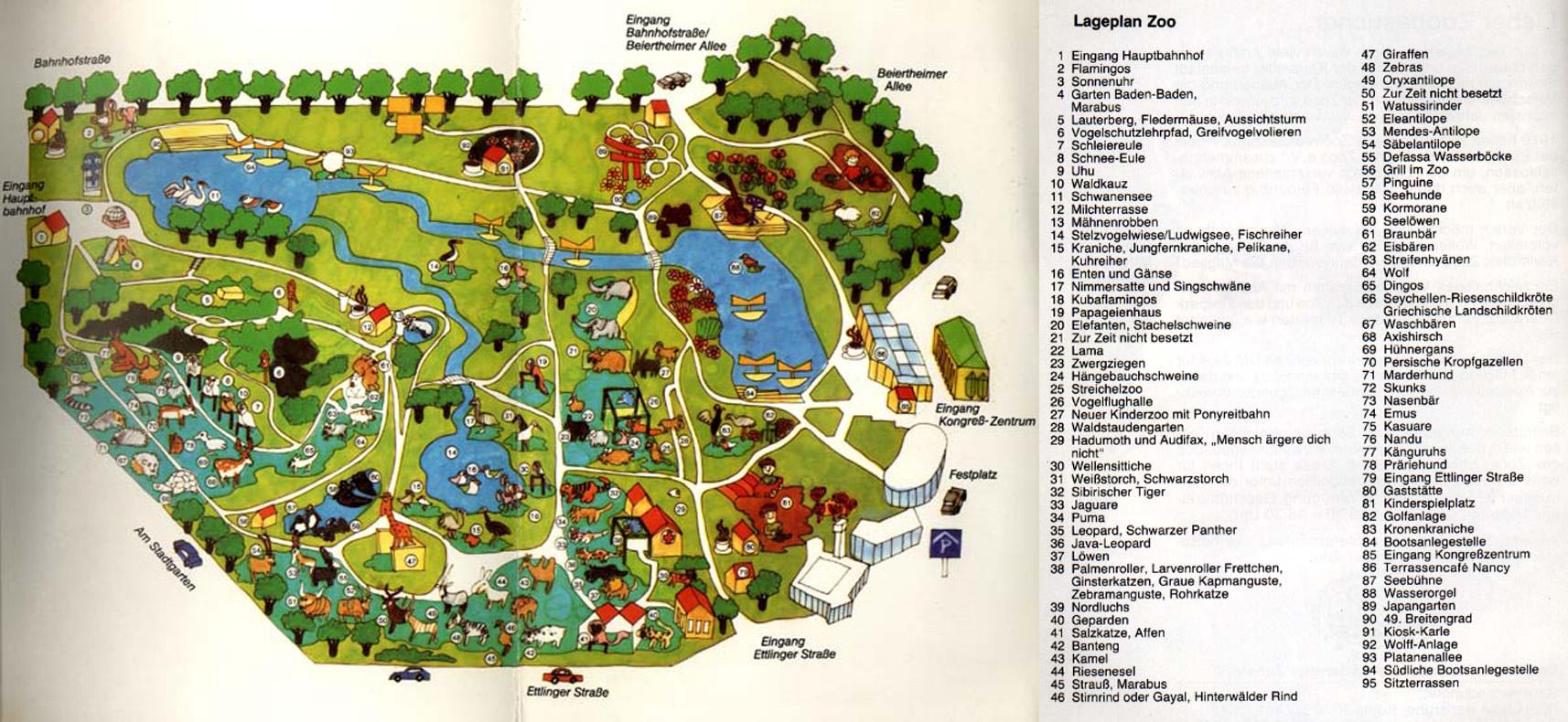 Zoo Karlsruhe Jahreskarte