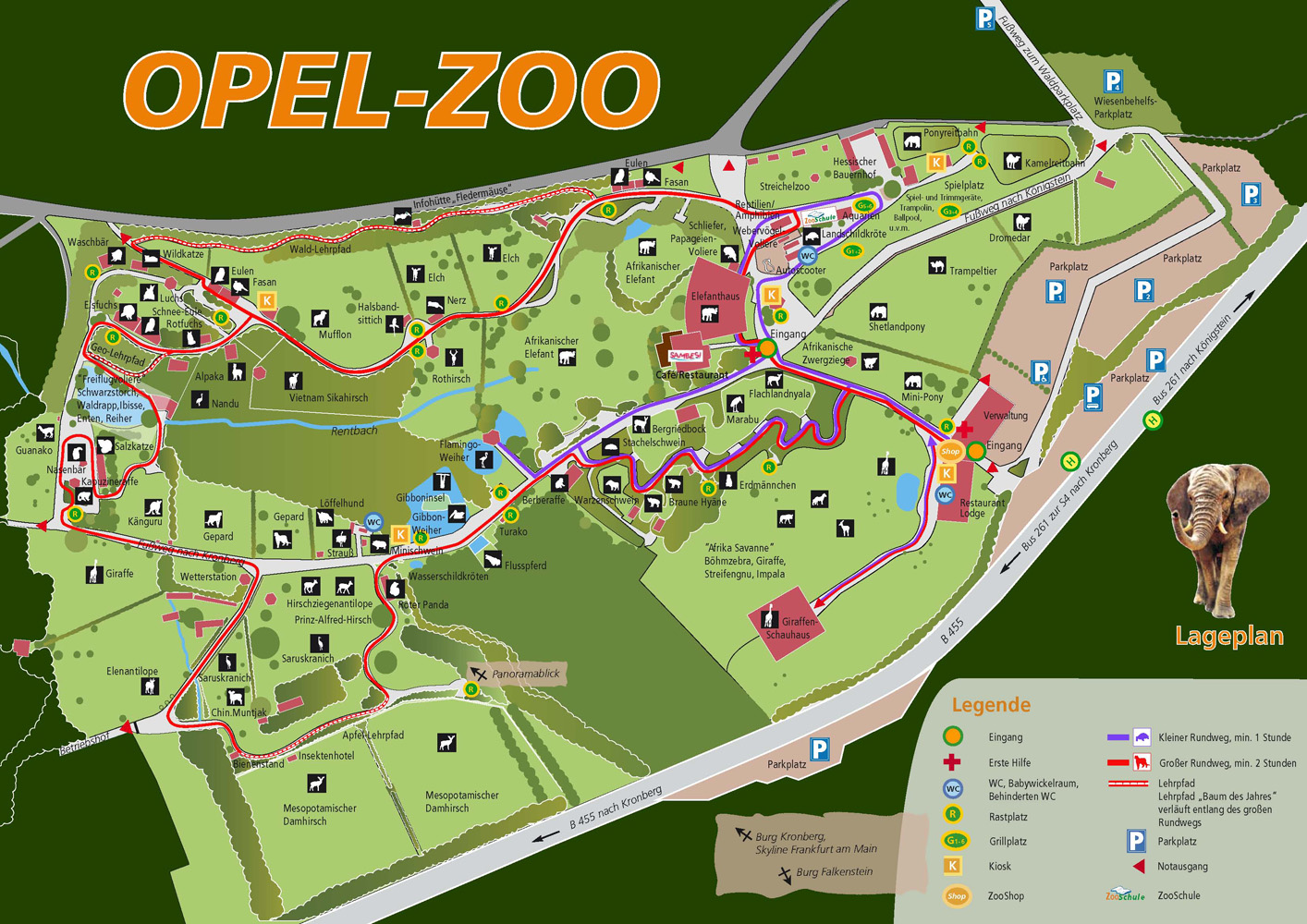 les zoos dans le monde - opel-zoo