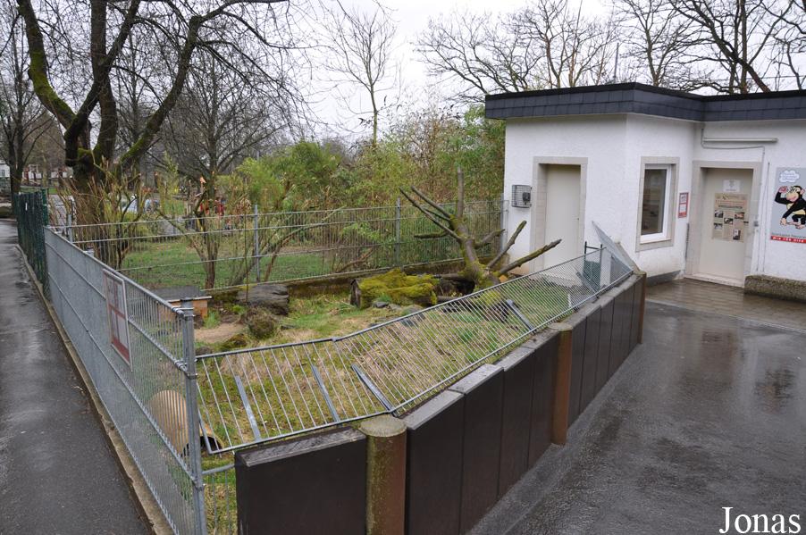 Les zoos dans le monde zoo neuwied for Zoo exterieur