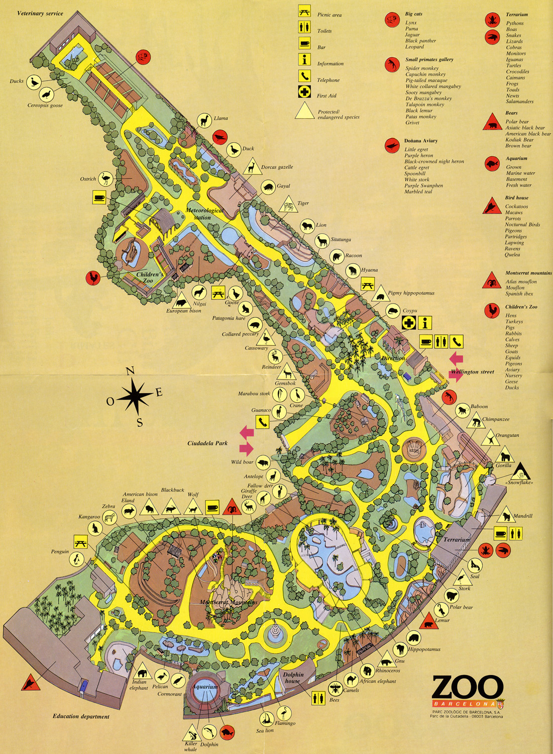 Index Of Zoos Europe Espagne Barcelona Maps