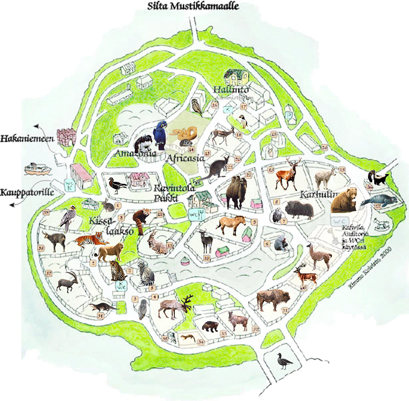 Index Of Zoos Europe Finlande Helsinki Maps