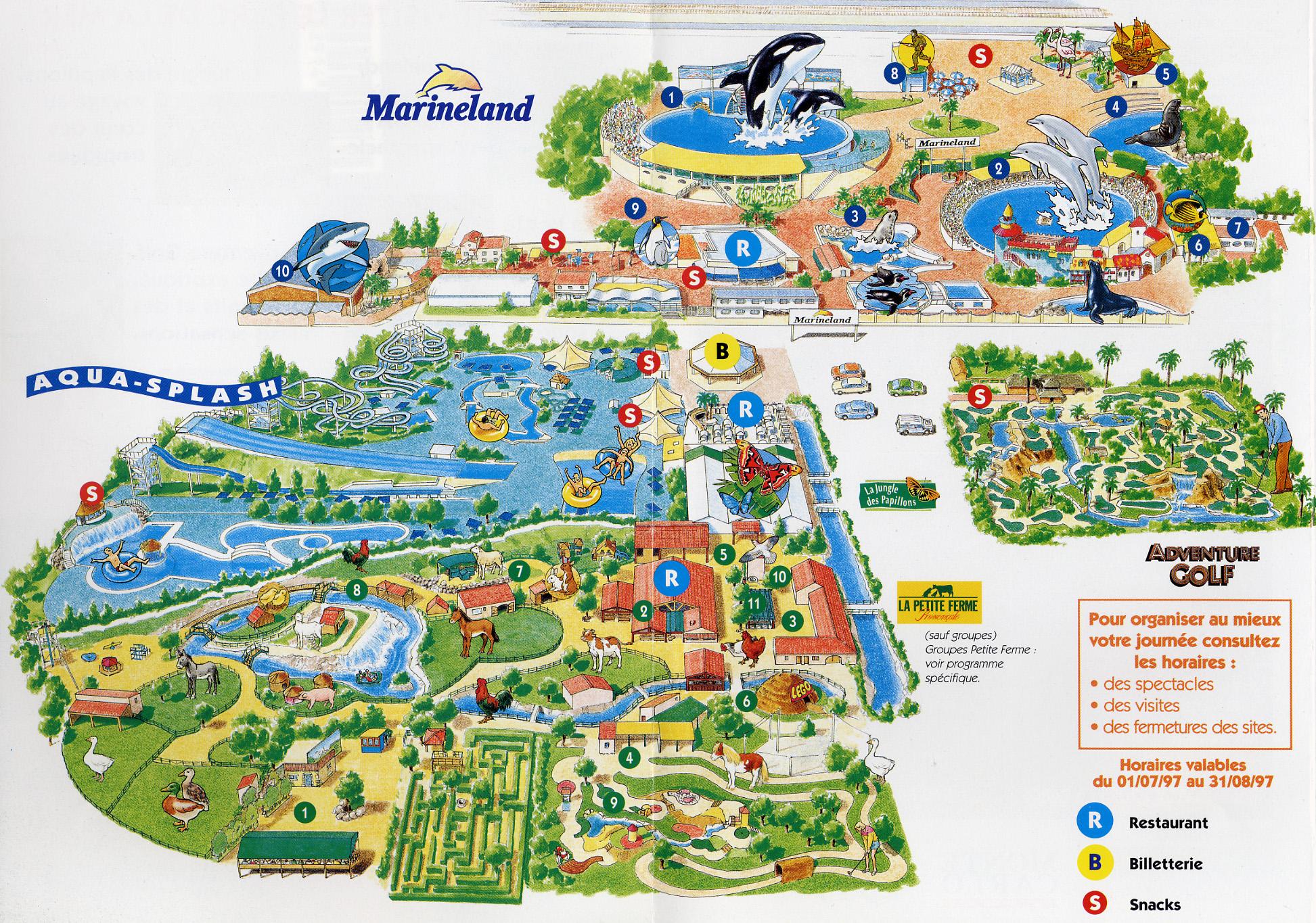 [Images] Ancien plan de Marineland Antibes_plan_1997