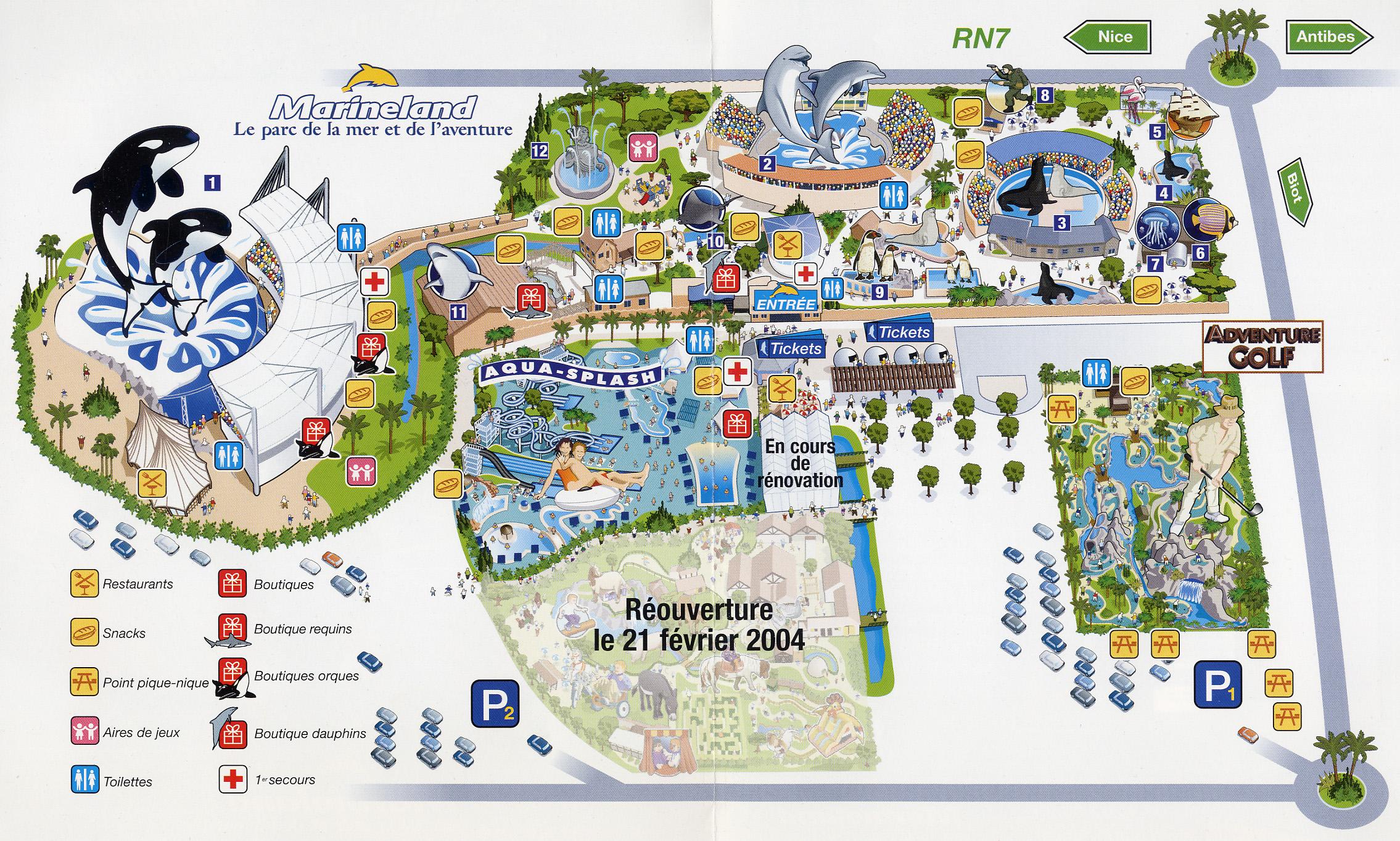 [Images] Ancien plan de Marineland Antibes_plan_2003