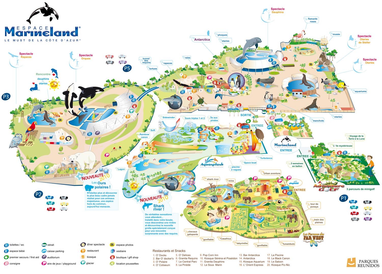 [Images] Ancien plan de Marineland Antibes_plan_2010