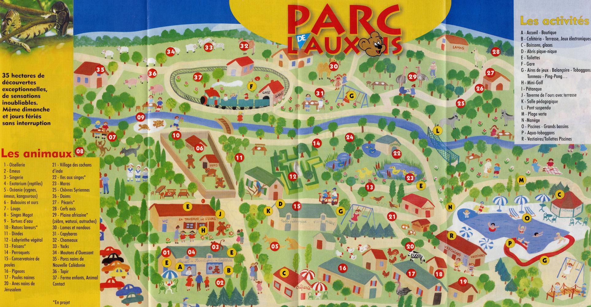 Arnay France  city images : Les Zoos dans le Monde Parc de l'Auxois