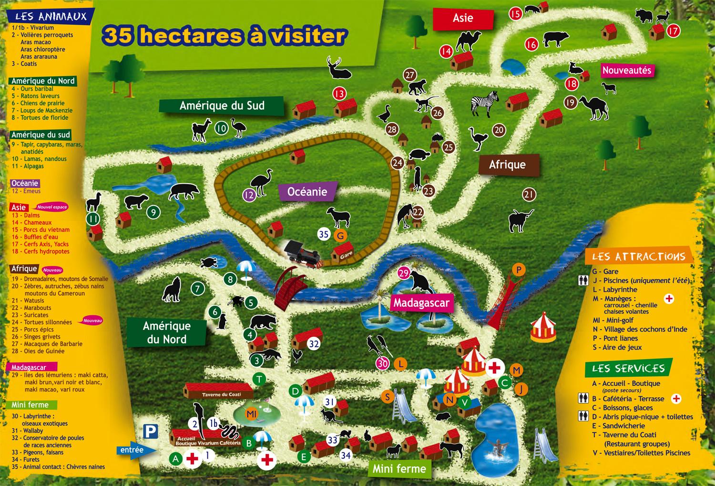 Arnay France  city pictures gallery : Les Zoos dans le Monde Parc de l'Auxois