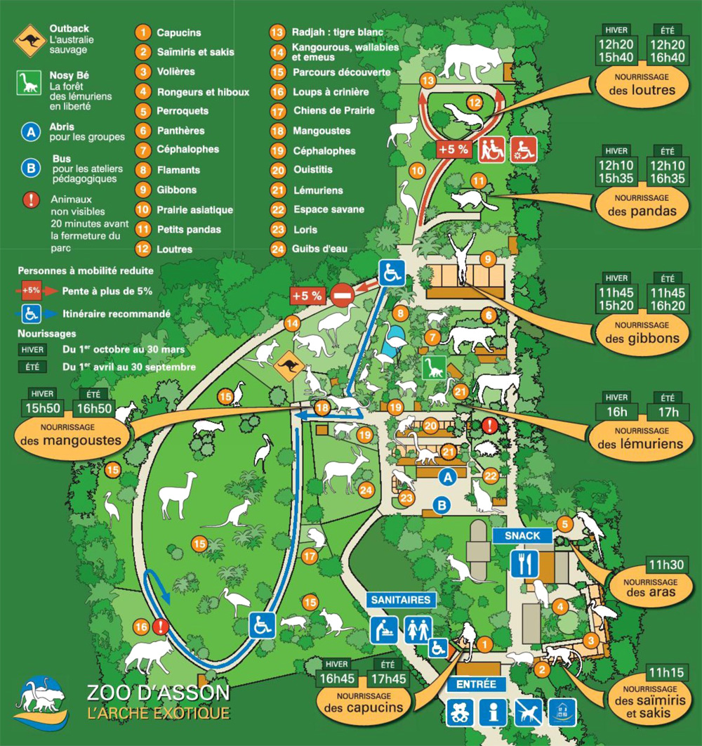 Map Of Zoos In France.Index Of Zoos Europe France Asson Maps