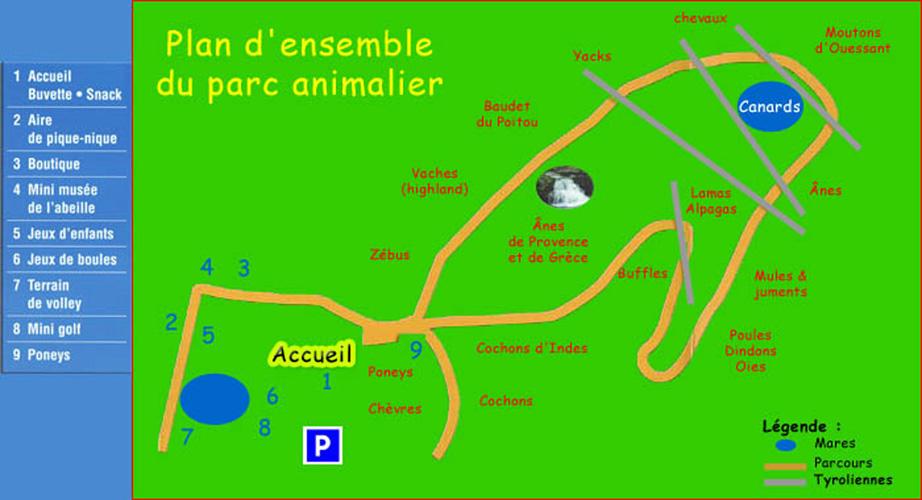 Les zoos dans le monde parc animalier domestique du verdon for Parc animalier dans les yvelines