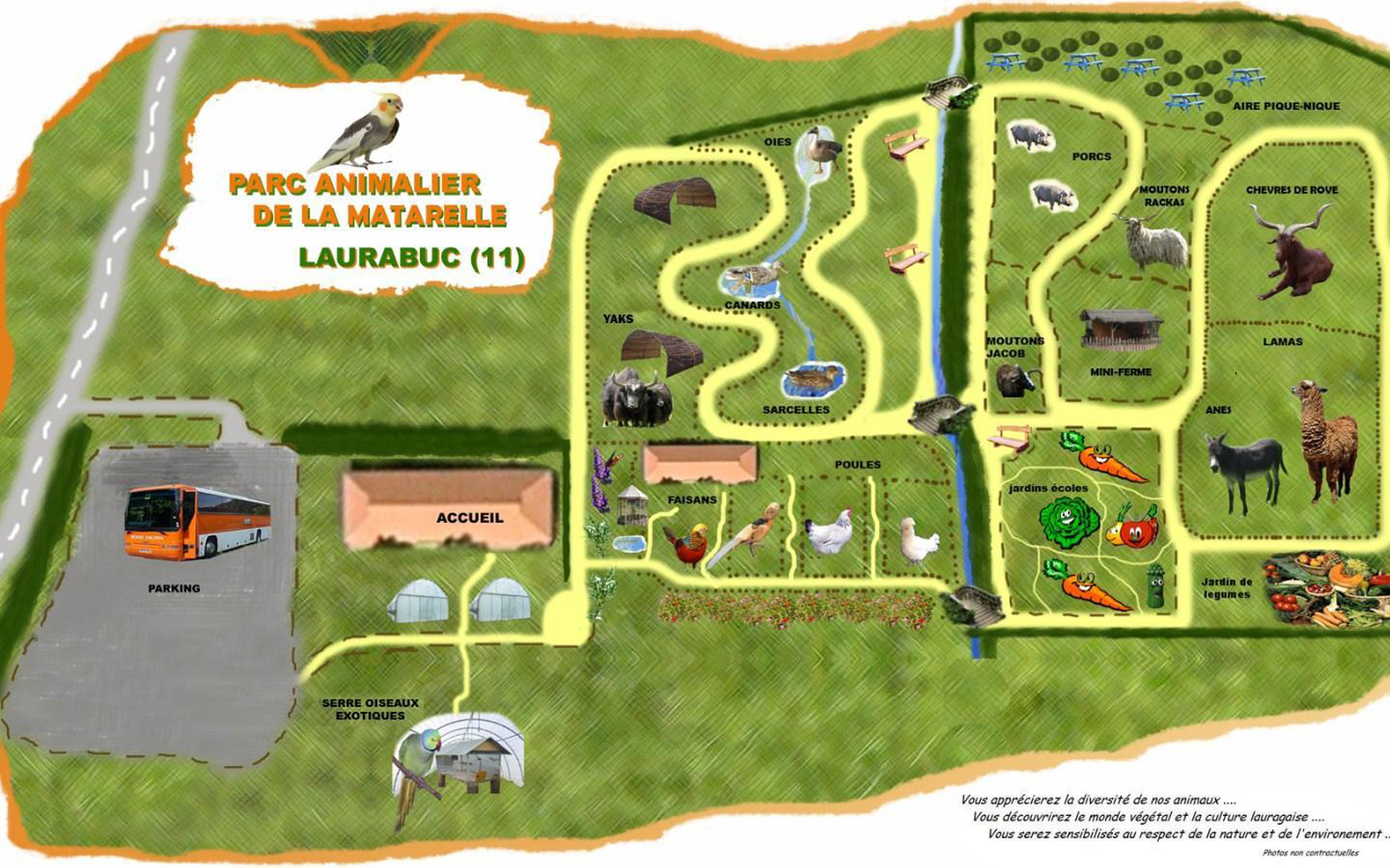 Les zoos dans le monde parc animalier de la matarelle for Parc animalier dans les yvelines
