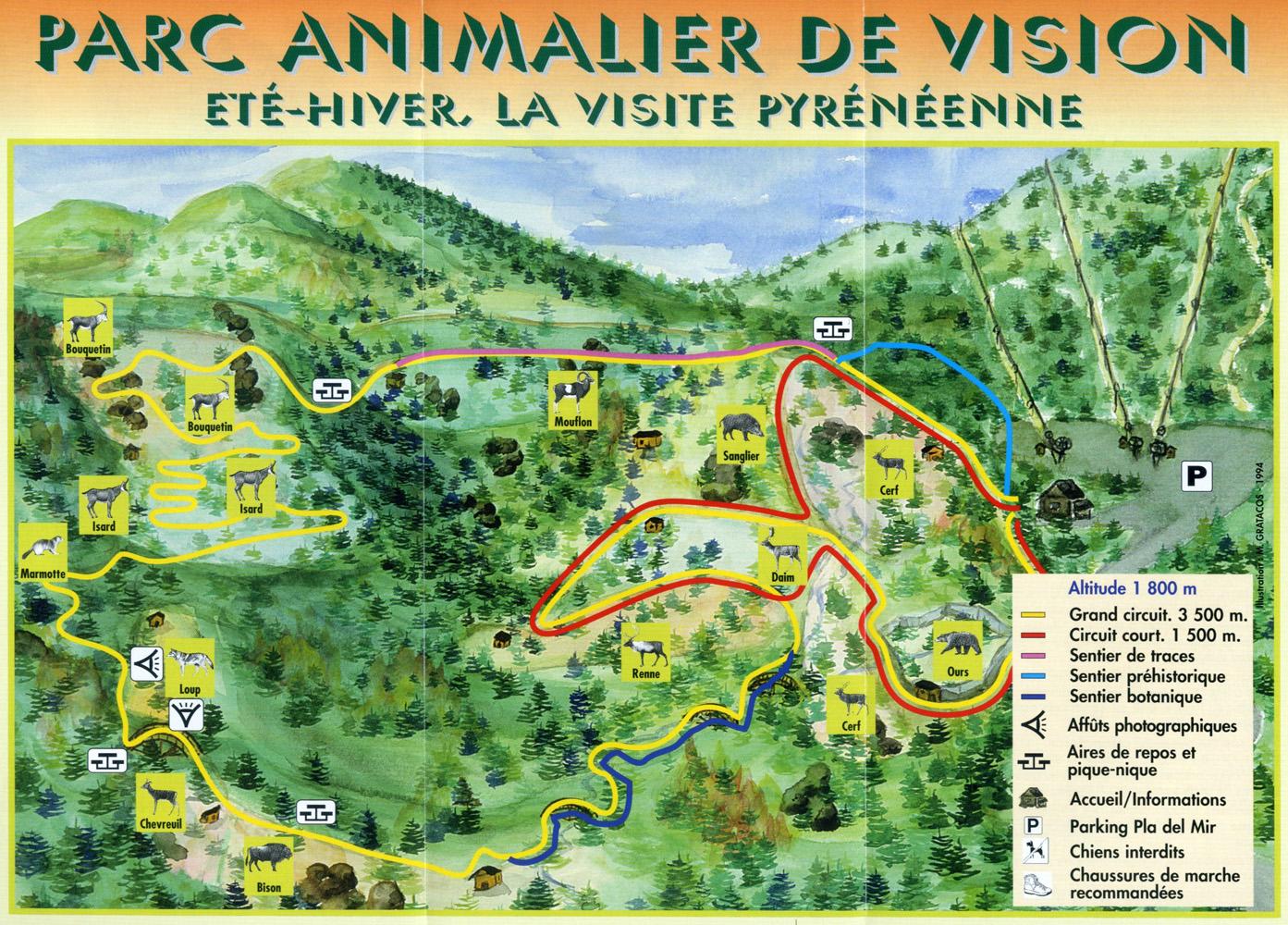 Les zoos dans le monde parc animalier des angles en capcir for Parc animalier dans les yvelines