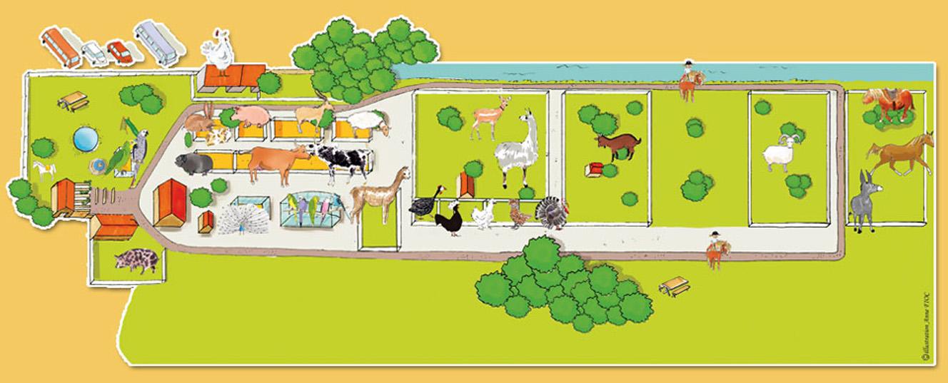Les zoos dans le monde parc animalier de lussas for Parc animalier dans les yvelines
