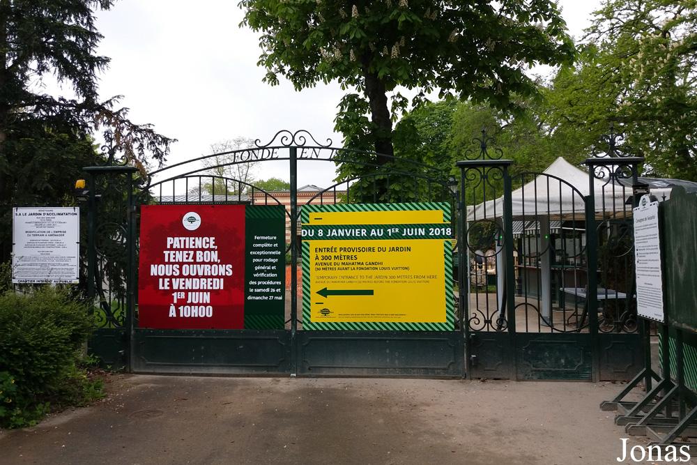 Les zoos dans le monde le jardin d 39 acclimatation - Prix entree jardin d acclimatation ...