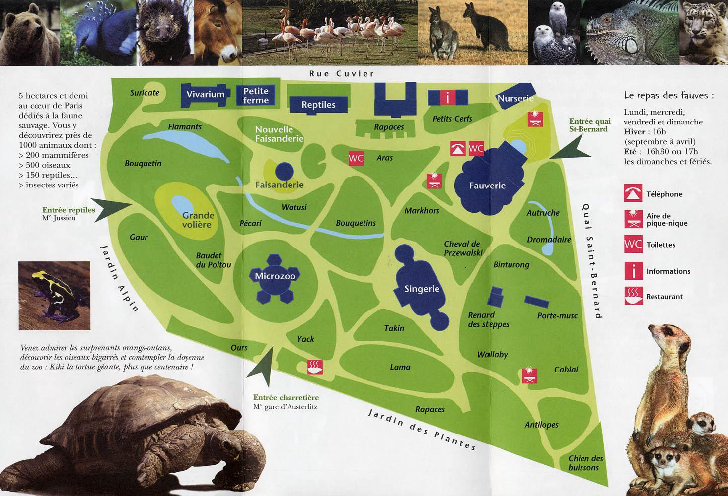 Les zoos dans le monde m nagerie du jardin des plantes for Jardin animaux paris