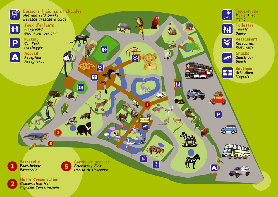 Map Of Zoos In France.Index Of Zoos Europe France Saint Jean Cap Ferrat Maps
