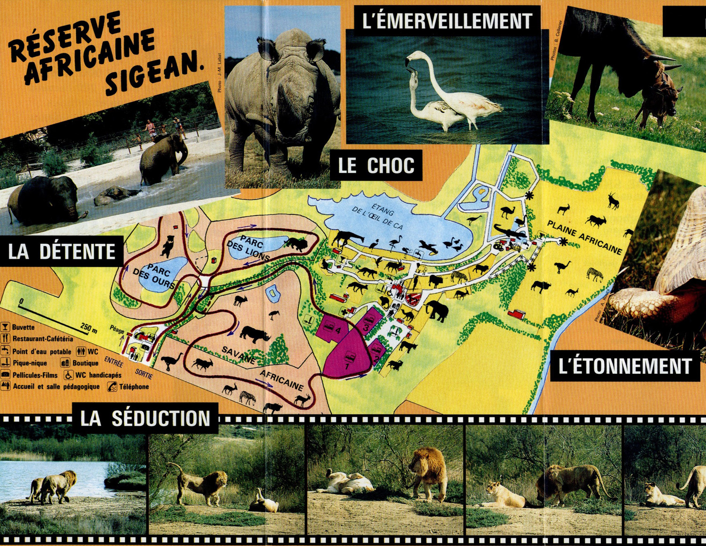 Les Zoos dans le Monde - Réserve Africaine de Sigean