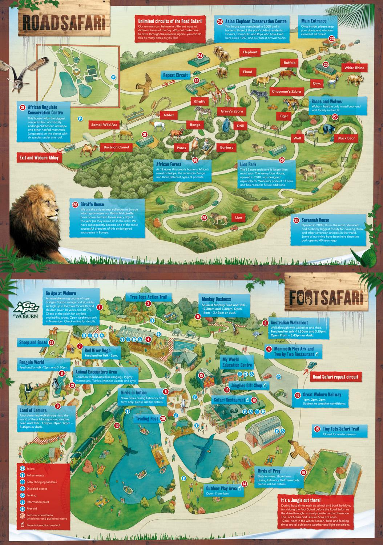 Les Zoos dans le Monde - Woburn Safari Park Safari World Map on malaysia map, thailand map, disneyland map, bangkok map, lumpini park map, amusement park map, erawan shrine map, drayton manor theme park map, cambodia map, zoo map, singapore map,