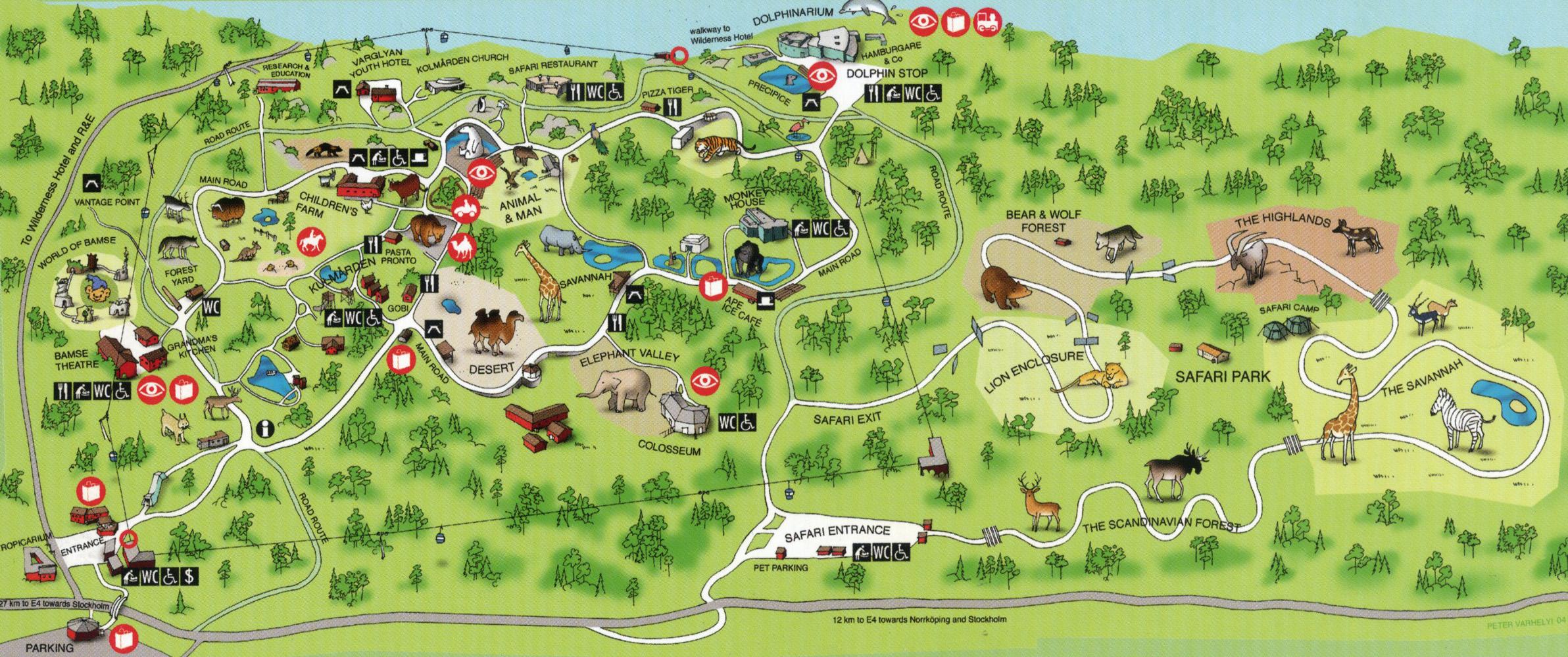 kolmården karta vildmarkshotellet kolmården karta kolmården karta